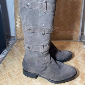 Lacrosse Womens Side Zipper Tall Leather Boot 8